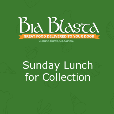 Sunday Lunch for Collection - Bia Blasta Home Catering